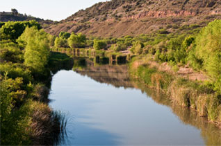 The Verde River in the Verde Valley
